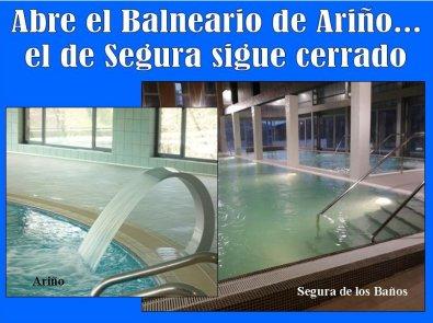 El balneario de ari o abre sus puertas el de segura de - Balneario de segura de banos ...